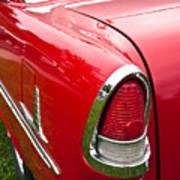 1955 Chevrolet Bel Air Tail Light Art Print