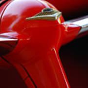 1955 Chevrolet Belair Nomad Steering Wheel 2 Art Print
