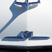 1956 Mercury Hood Ornament Art Print