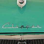 1955 Packard Clipper Hood Ornament Art Print