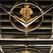 1955 Packard Hood Ornament Emblem Art Print