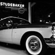 1955 Studebaker President Speedster Art Print