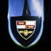 1955 Studebaker President Speedster Emblem -0496c45 Art Print