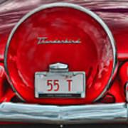 1955 Thunderbird Art Print