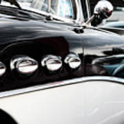 1956 Buick Century Profile 1 Art Print