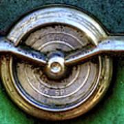 1956 Buick Special Emblem Art Print