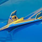 1956 Chevrolet Hood Ornament 2 Art Print