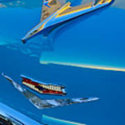 1956 Chevrolet Hood Ornament 4 Art Print
