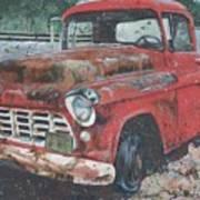 1956 Chevy Pickup Art Print
