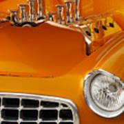 1956 Chrysler Custom 2 Door Sport Wagon Art Print