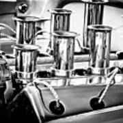 1956 Chrysler Hot Rod Engine Art Print
