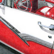 1956 Ford Fairlane Convertible 2 Art Print