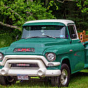 1956 Gmc Pickup Art Print