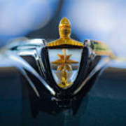 1956 Lincoln Hood Ornament Art Print