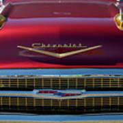 1957 Chevrolet Grille Art Print