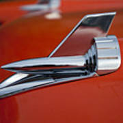 1957 Chevrolet Hood Ornament Art Print