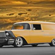 1957 Chevrolet Sedan Delivery II Art Print