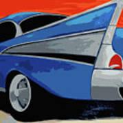 1957 Chevy Bel Air Art Print