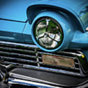 1957 Ford Detail Art Print