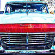 1957 Ford Fairlane Art Print