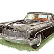 1957 Lincoln Continental Mk II Art Print