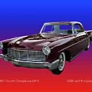1957 Lincoln M K I I Art Print