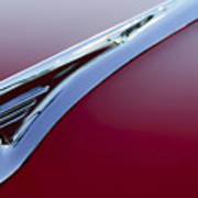 1957 Oldsmobile Hood Ornament 2 Art Print