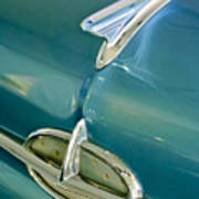 1957 Oldsmobile Hood Ornament 5 Art Print