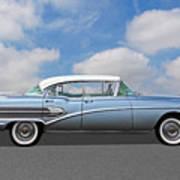 1958 Buick Roadmaster 75 Art Print