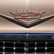 1958 Cadillac Eldorado Barritz Emblem Art Print