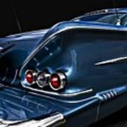 1958 Chevrolet Bel Air Impala Art Print