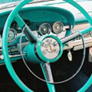 1958 Edsel Pacer Dash Art Print