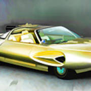 1958 Ford Automobile Art Print