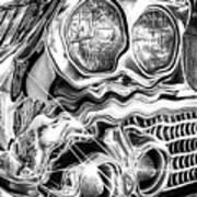 1958 Impala Beauty Within The Beast Art Print