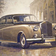 1959-62 Rolls-royce Silver Cloud II Art Print