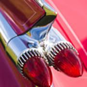 1959 Cadillac Eldorado Tail Fin 2 Art Print