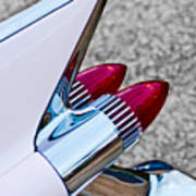 1959 Cadillac Eldorado Tail Fin Art Print