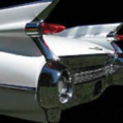 1959 Cadillac Tail Art Print