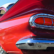 1959 Chevrolet Biscayne Taillight Art Print