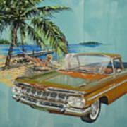 1959 Chevrolet El Camino Art Print