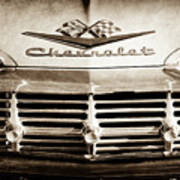 1959 Chevrolet Impala Grille Emblem -1014s Art Print