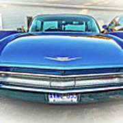 1960 Cadillac - Vignette Art Print