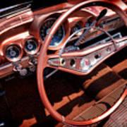 1960 Chevrolet Impala Convertible Art Print