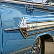 1960 Chevy Impala Art Print