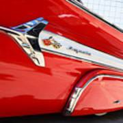 1960 Chevy Impala Low Rider Art Print