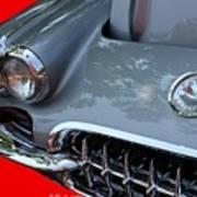 1960 Corvette Art Print