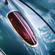1960 Corvette Taillight Art Print