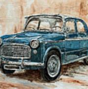 1960 Fiat 1100 103 H Art Print