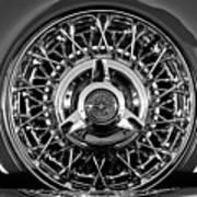 1960 Ford Thunderbird Spare Tire 2 Art Print