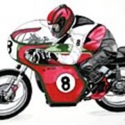 1960s Ducati Desmo Art Print